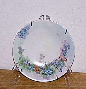 HAND PAINTED TINY FLOWERS PLATE, J.P.L FRANCE (Image1)