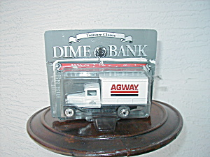 TREASURE CLASSIC DIME BANK, 1930 CHEVY AGWAY TRUCK (Image1)