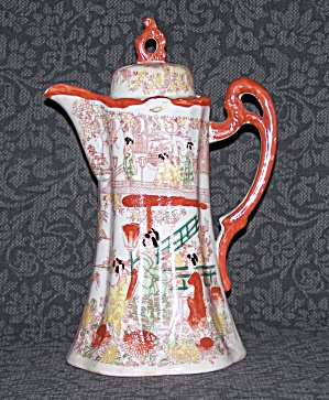 ORIENTAL CHOCOLATE/COFFEE POT (Image1)