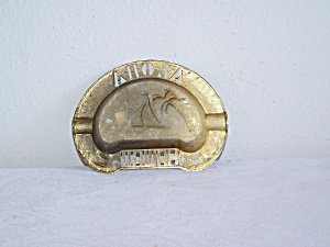 ALOHA HAWAII Metal ASHTRAY (Image1)