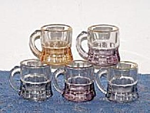 SET OF 5 HANDLED SHOT GLASSES (Image1)