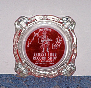 ERNEST TUBB RECORD SHOP ASH TRAY (Image1)