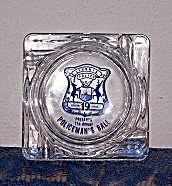 POLICEMAN'S BALL GLASS ASHTRAY (Image1)