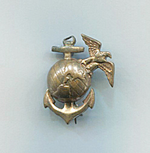 Wwii Marine Corps Eagle Globe/anchor Pin