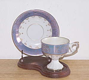 Pedestal Demitasse Cup And Saucer