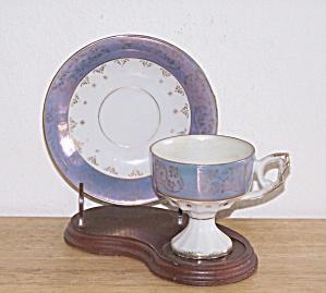 PEDESTAL DEMITASSE CUP AND SAUCER (Image1)