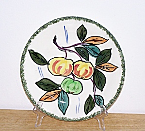 BLUE RIDGE APPLES PLATE (Image1)