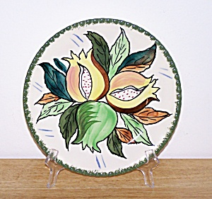 BLUE RIDGE PAPAYA PLATE (Image1)