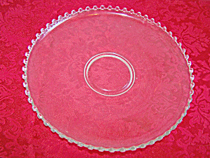 Beautiful LARGE 17 in. CANDLEWICK Round PLATTER (Image1)