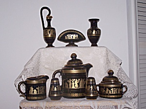8 Pc. Greece Tea Set