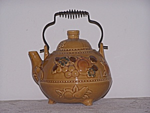 Teapot With Wire Bale Handle