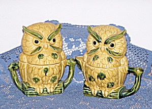 Royal Sealey Owl Condiment Set
