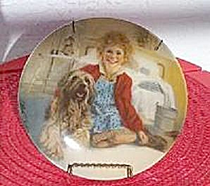 ANNIE & SANDY, 1982 KNOWLES PLATE (Image1)