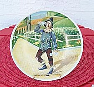 WIZARD OF OZ, IF I ONLY HAD A BRAIN, 1978 KNOWLES PLATE (Image1)