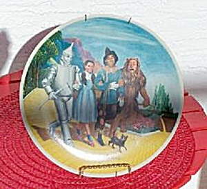 Wizard Of Oz, The Grand Finale, 1979 Knowles Plate