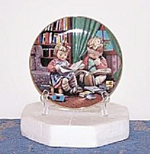 Budding Scholars, Hummel Collector Plate