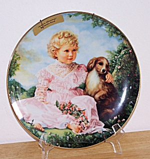 Golden Afternoons, Collector Plate