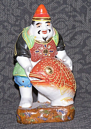 KUTANI MAN WITH FISH FIGURINE (Image1)