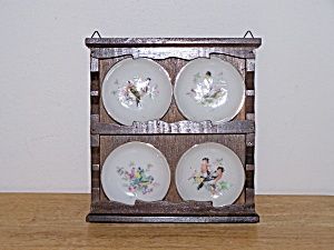 DISPLAY RACK WITH 4 BIRD COASTERS (Image1)