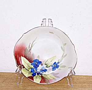 HAND PAINTED FLOWERS PLATE, NIPPON (Image1)
