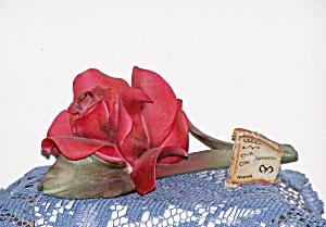 DEA CAPODIMONTE RED ROSE (Image1)