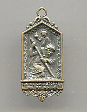 St. Christopher Medal, I Am A Catholic