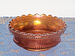 Carnival Glass Bon Bon Bowl
