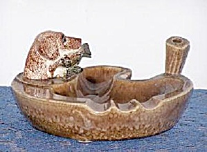 Hunting Dog Ash Tray