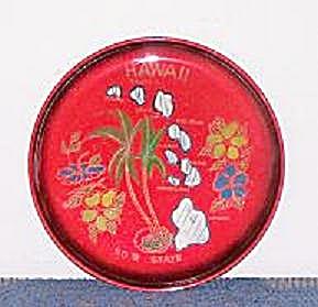HAWAII PLASTIC SOUVENIR PLATE (Image1)