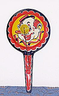 NEW YEAR'S EVE CLAPPER NOISEMAKER W/ CLOWN (Image1)