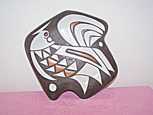 DENMARK Matt Finish Abstract Shaped Plate with White  (Image1)