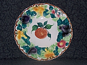 HAND PAINTED FRUIT CHARGER, ITALY (Image1)