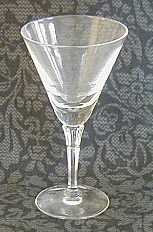 Fostoria Chateau Cocktail/wine Glass