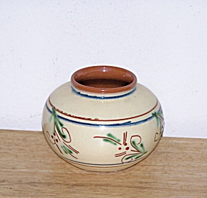 SWEDEN SHORT GLAZED VASE (Image1)