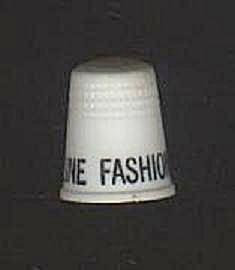 BEELINE FASHIONS PLASTIC THIMBLE (Image1)