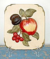 FRUIT PLASTER/CHALK PLAQUE (Image1)