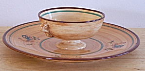 Pennsbury Pottery Dip & Chip Bowl