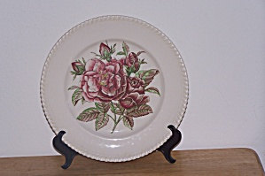 Johnson Bros. Dinner Plate, Old Flower Prints