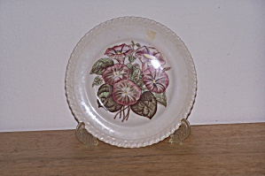 Johnson Bros. Bread & Butter Plate, Old Flower Prints