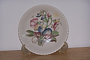 Johnson Bros. Saucer, Old Flower Prints