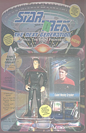 Cadet Wesley Crusher, The Next Generation