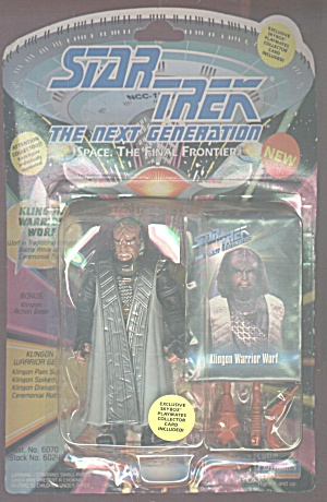 Klingon Warrior Worf, The Next Generation