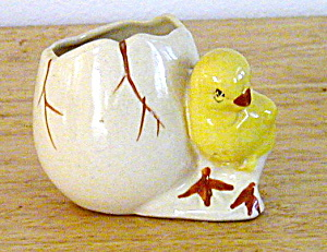 CHICK WITH EGG PLANTER (Image1)