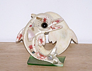Dolphin Resin Napkin Holder