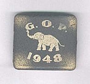 G.O.P. 1948 CIGARETTE CASE W/ELEPHANT (Image1)