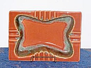 U.S.A. ORANGE ASH TRAY (Image1)