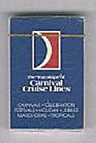 Carnival Cruise Lines Playing Cards