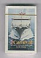 CARNIVAL CRUISE LINES PLAYING CARDS (Image1)