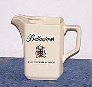 BALLENTINE'S BAR PITCHER BY WADE (Image1)