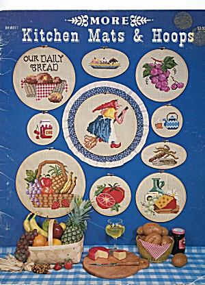 More Kitchen Mats & Hoops Cross Stitch Leaflet